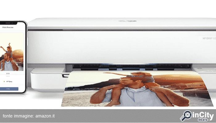 Hp Envy 6020 5SE16B: la stampante multifunzione