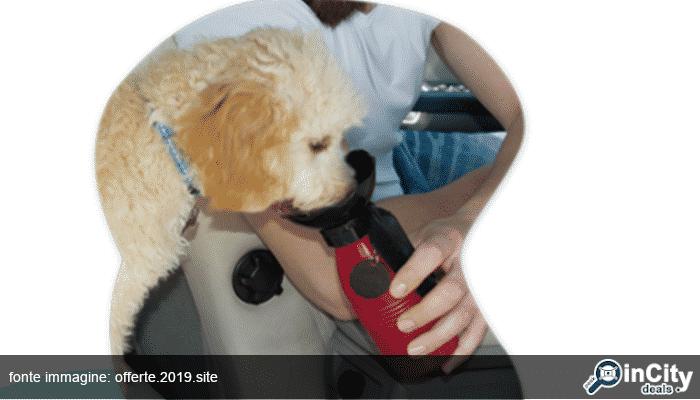 borraccia per cani portatile